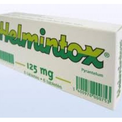 Helmintox mg comp. N3 (Pirantel) Helmintox cp posologie